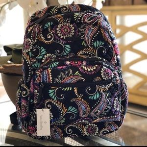 Vera Bradley bandana swirl XL campus backpack